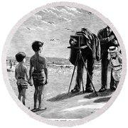 Photography, 1877 Round Beach Towel