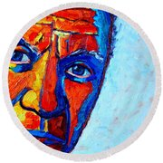 Picasso's Look Round Beach Towel