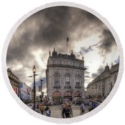 Piccadilly Panorama Round Beach Towel