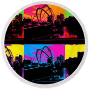 Pick Your Color Round Beach Towel