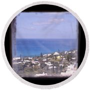 Picture A Moment Round Beach Towel
