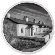 Pilot Cottages Round Beach Towel