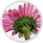 Pink Heaven Round Beach Towel