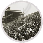 Pittsburgh: Forbes Field Round Beach Towel