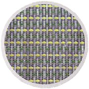 Placemat Round Beach Towel