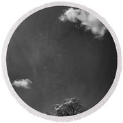 Places We Remember Round Beach Towel by Laurie Search