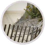 Point Pleasant Beach Round Beach Towel