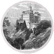 Poland: Castle Round Beach Towel