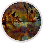 Polluted Circus Round Beach Towel