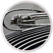 Pontiac Ornament Round Beach Towel