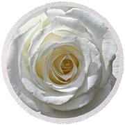 Pope John II Rose Round Beach Towel