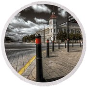 Port Adelaide Round Beach Towel
