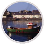 Portaferry, Strangford Lough, Ards Round Beach Towel