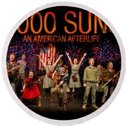 Poster For 1000 Suns - An American Afterlife Round Beach Towel