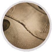 Primitve Fashion Round Beach Towel