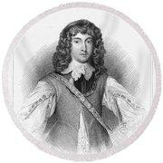 Prince Rupert (1619-1682) Round Beach Towel