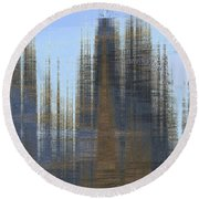 Prometheus Round Beach Towel