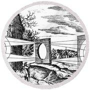 Properties Of Light, 1685 Round Beach Towel