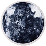 Prowler Round Beach Towel
