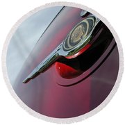 Pt Cruiser Emblem Round Beach Towel