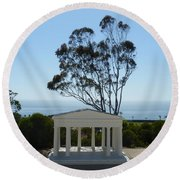 Pt. Loma Round Beach Towel