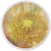 Pure Delicate Center Round Beach Towel