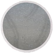 Pure Frost Round Beach Towel