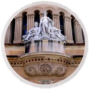 Queen Victoria Building - Sydney Round Beach Towel