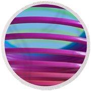 Rainbow 9 Round Beach Towel