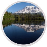 Rainier Clarity Round Beach Towel