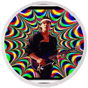 Randy Wolfe Round Beach Towel