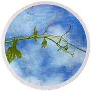 Reaching Out Round Beach Towel
