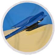 Ready For Take Off Round Beach Towel