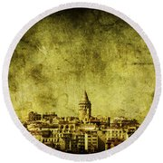 Recollection Round Beach Towel by Andrew Paranavitana