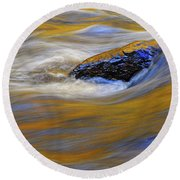 Reflected Color Round Beach Towel