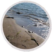 Relaxing Times Round Beach Towel