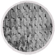 Repetition To Variation 1b Round Beach Towel