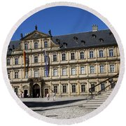 Residence Place - Bamberg Round Beach Towel