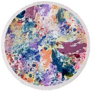 Reverie Round Beach Towel