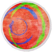 RGB Round Beach Towel