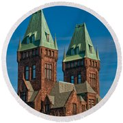 Richardson Building 3421 Round Beach Towel