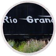 Rio Grande Round Beach Towel