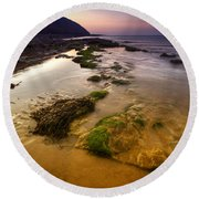 Rising Tides Round Beach Towel
