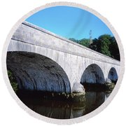 River Blackwater, Cappoquin, Co Round Beach Towel