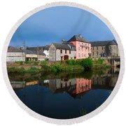 River Nore, Kilkenny, County Kilkenny Round Beach Towel