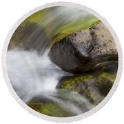River Rocks II Round Beach Towel