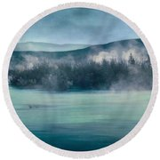 River Song Round Beach Towel