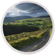 Road Through Glenelly Valley, County Round Beach Towel