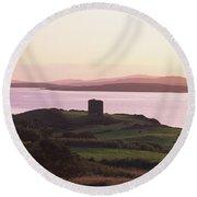 Roaringwater Bay, Co Cork, Ireland Round Beach Towel