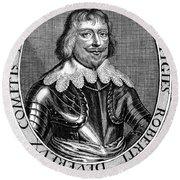 Robert Devereux (1591-1646) Round Beach Towel